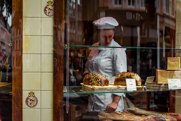 Лендинг для пекарни